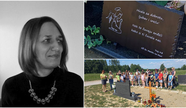 DIVNA GESTA Učenici OŠ Sv. Martin na Muri posjetili grob prerano preminule razrednice Carmen Mošmondor