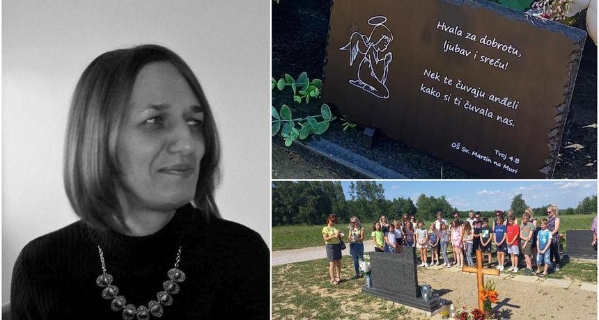 DIRLJIVA GESTA Učenici posjetili grob svoje prerano preminule razrednice Carmen Mošmondor