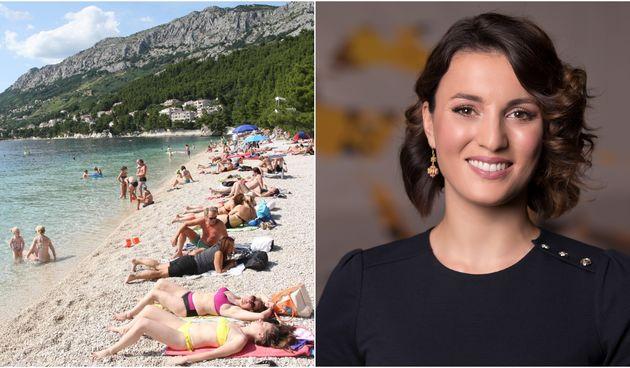 Damjana Ćurkov & plaža