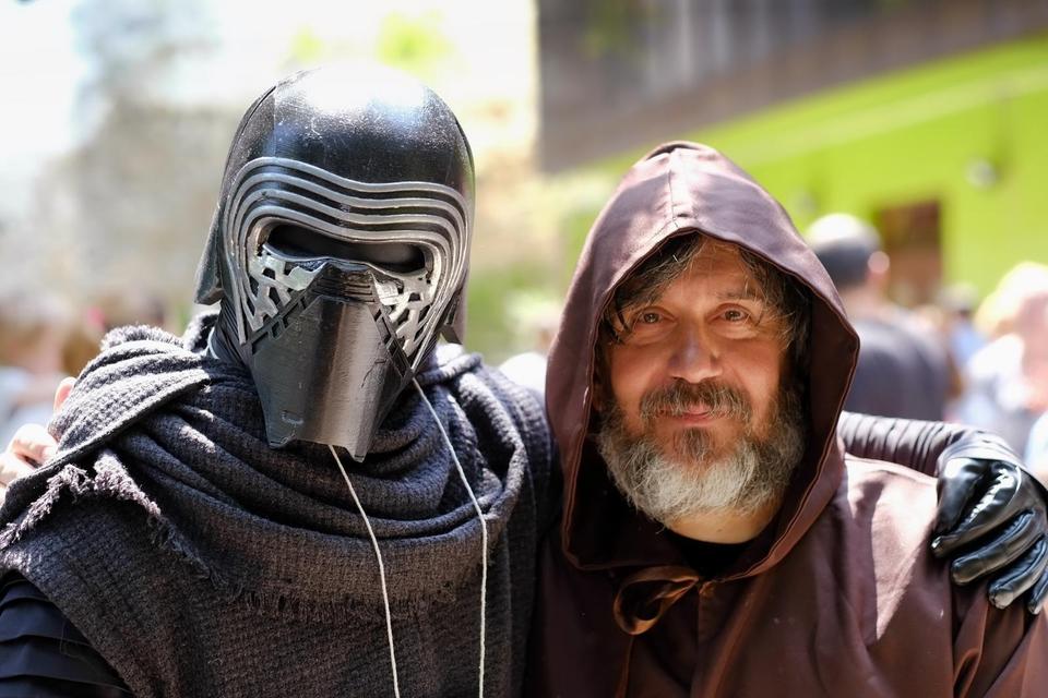 U parku Ribnjak održana proslava Star Wars dana