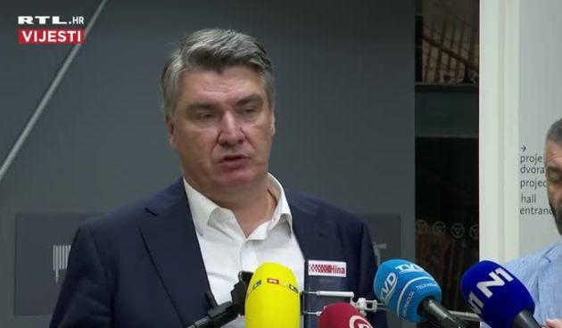 Milanović u Sinju: 'Sada ćemo vidjeti kako će se ponašati oni koji su torpedirali Đurđević' (thumbnail)
