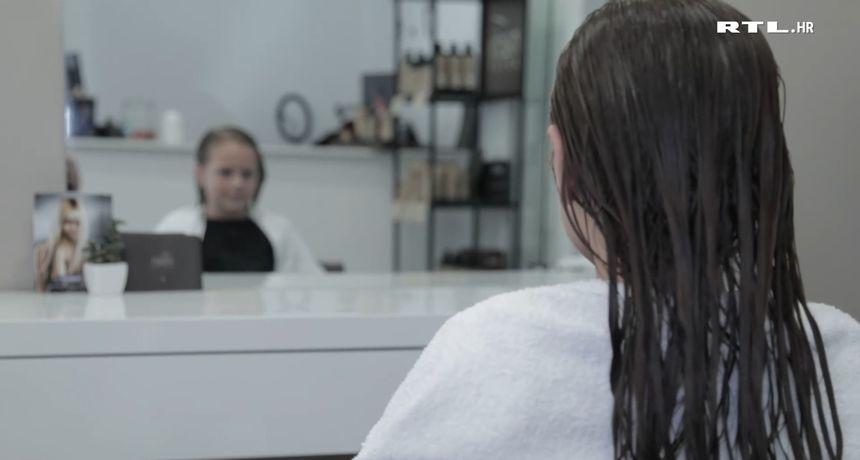 VIDEO - Luna Popić (6) je mala djevojčica, ali veliki čovjek: Ošišala je svoju kosu prvi put u životu kako bi je donirala bolesnoj djeci