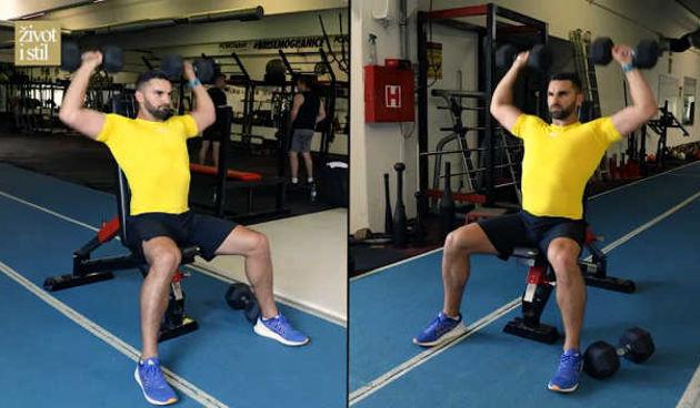 Ivan Brkljačić otkrio kako pravilno vježbati: Trening ruku i ramena (thumbnail)