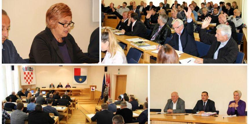 NAČELNICA Pribislavca Višnja Ivačić na čelu Kolegija gradonačelnika i načelnika