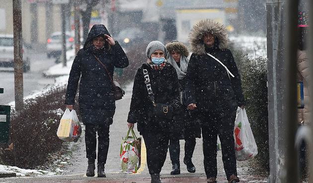 Karlovačkim ulicama 14. siječnja 2021. FOTO GALERIJA