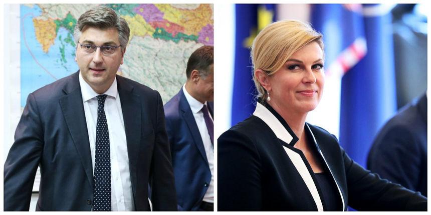 Plenković: 'Predsjednica je imala namjeru prisustvovati sastanku u Marakešu'