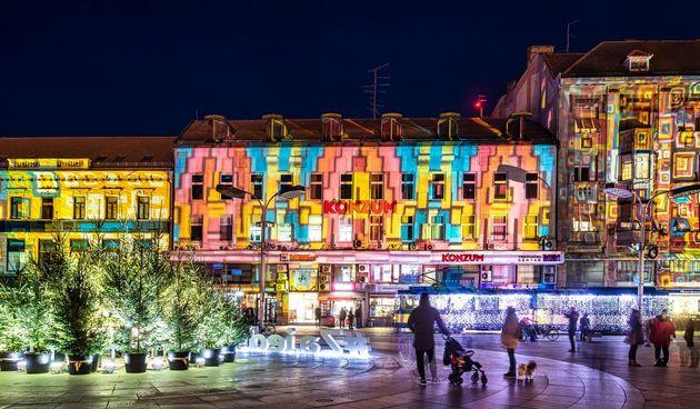 Kaleidoskop na Trgu Ante Starčevića - festival svjetlosti