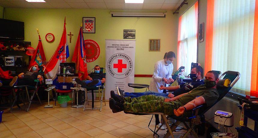 U Slunju održana prva ovogodišnja akcija dobrovoljnog darivanja krvi - prikupljeno 79 doza spasonosne tekućine