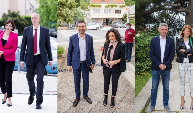 Mato Franković, Boris Miletić i Ivica Puljak