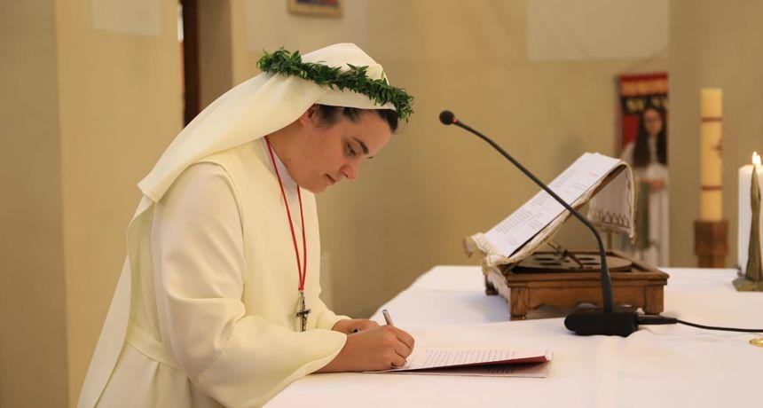 Doživotni redovnički zavjeti Karlovčanke s. Marie Ivane Perković