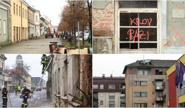 Puste ulice Petrinje