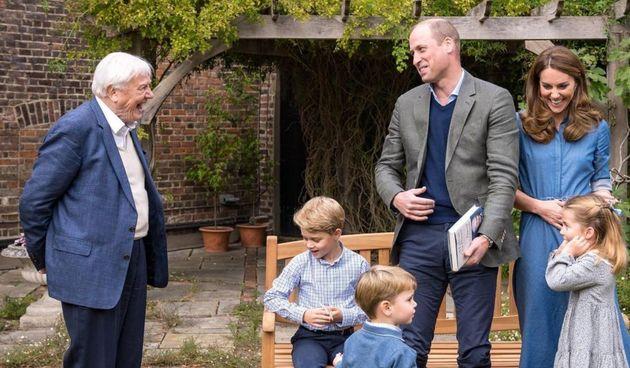 Princ William i Kate Middleton s djecom