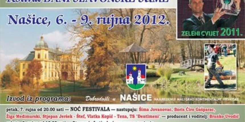 Dani slavonske šume 2012. [program]