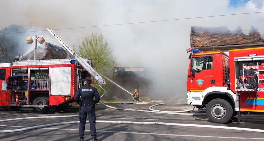 Drama u Svetoj Klari: Zapalila se kuća, u požaru ozlijeđen 32-godišnji muškarac