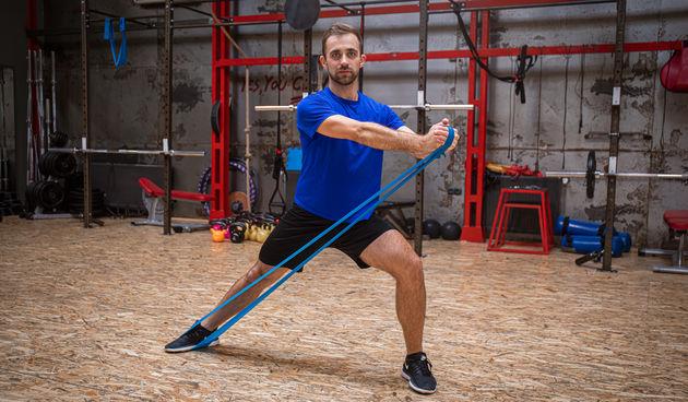 Trener Spevan pokazao nam je vježbe s elastičnom trakom