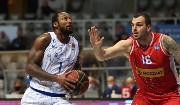 ABA liga, 5. kolo: KK Zadar - KK Borac 70-56