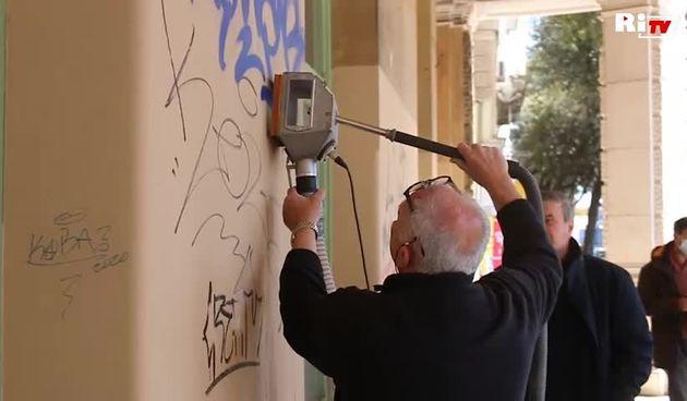 Ana Blečić: Čišćenje grafita (thumbnail)