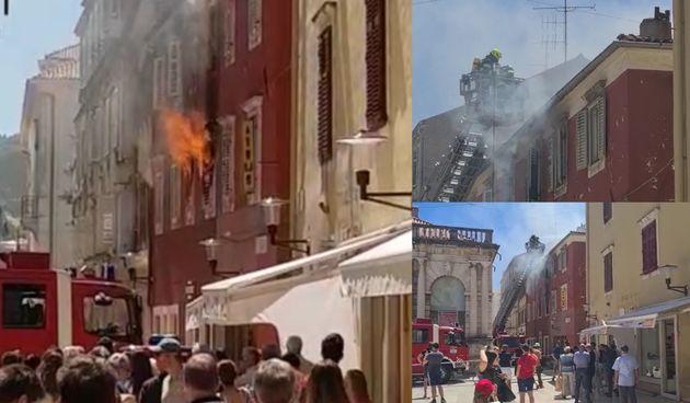 Požar, Zadar