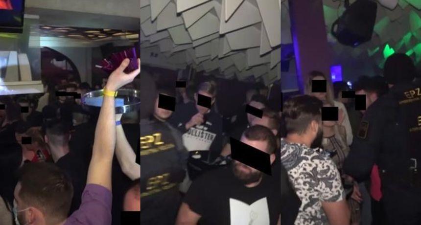 Policijska racija u ugostiteljskim objektima u Zagrebu: Nema distance, mnogi ne nose masku... Zatečena i zaražena osoba!