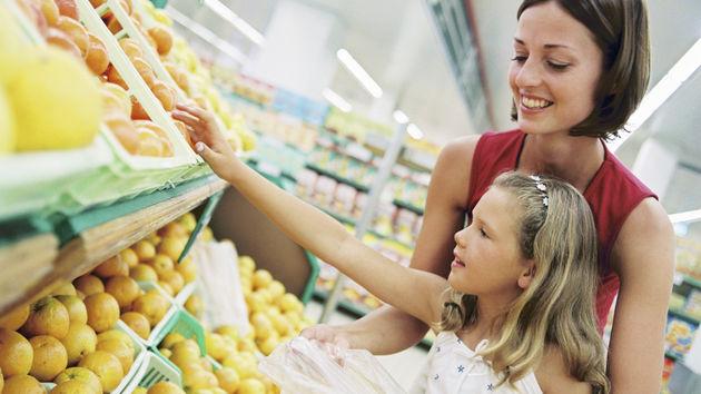 kupovina, voće, dućan