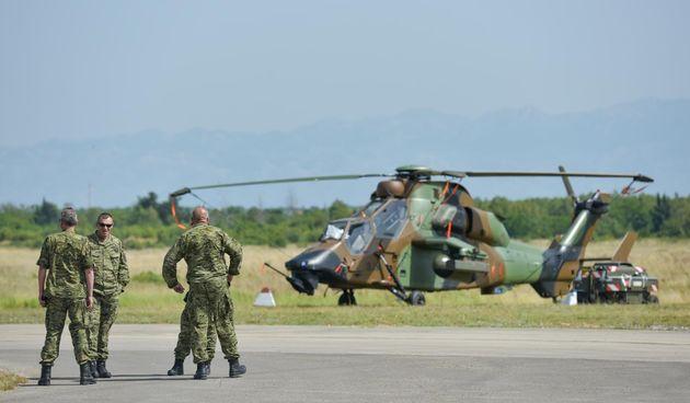 Britanci i Francuzi u Zemunik stigli helikopterima na vježbu