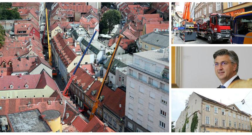 Zagreb se raspada, caruju dizalice, što se čeka? 'Donošenje zakona o obnovi jedna od prvih zadaća Vlade'