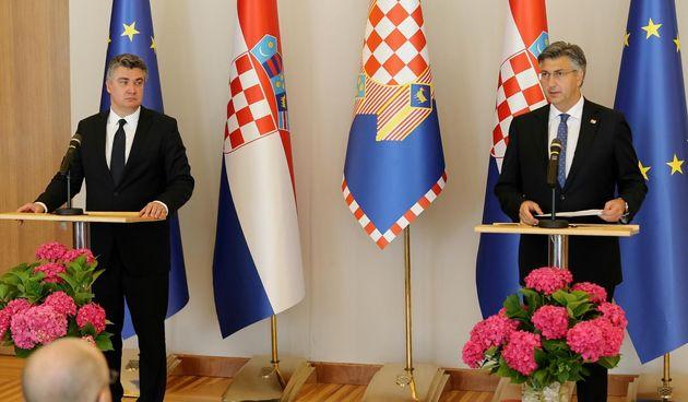 Zoran Milanović Andrej Plenković