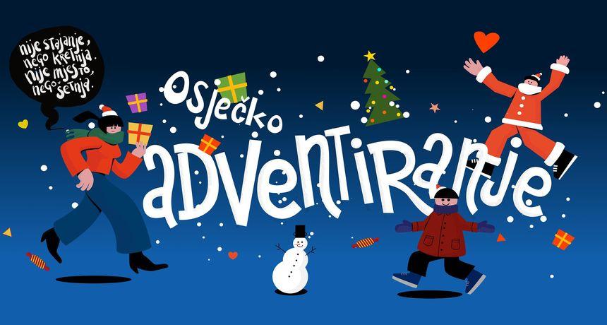 Advent u Osijeku postaje Adventiranje