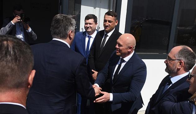 Predsjednik Milanović u Ogulinu 04. svibnja 2021.