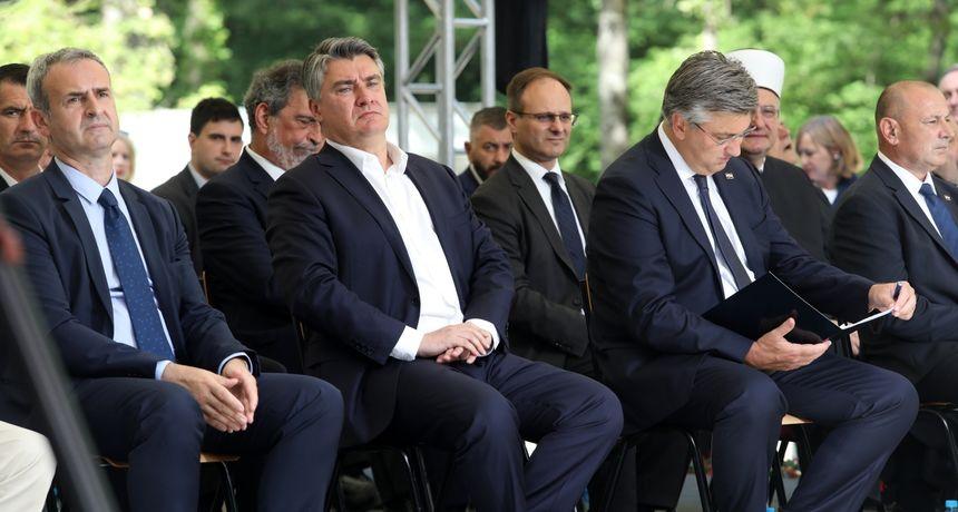 Milanović Plenkoviću i društvu u Brezovici: 'Di ste partizani!' Donosimo pikantne detalje koji su začinili proslavu