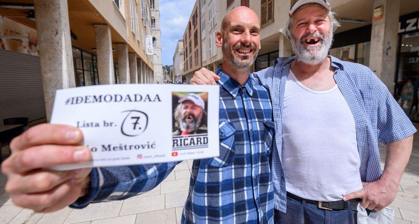 Ako niste, upoznajte Ričarda - najupečatljivijeg kandidata za gradonačelnika o kojem sada ovisi politička slika grada