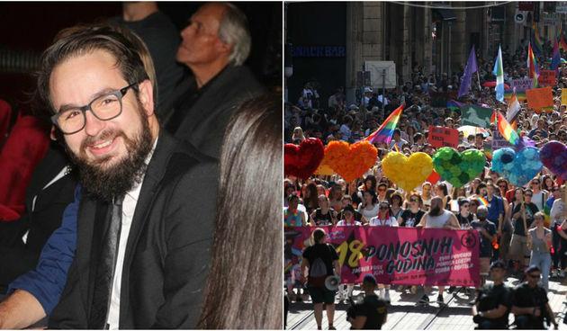 Šime Zupčić i Zagreb Pride