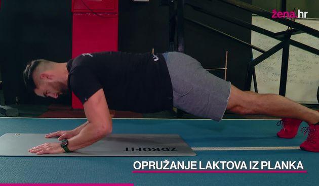 Vježbaj kod kuće s Ivanom: Napredni trening za gornji dio tijela (thumbnail)