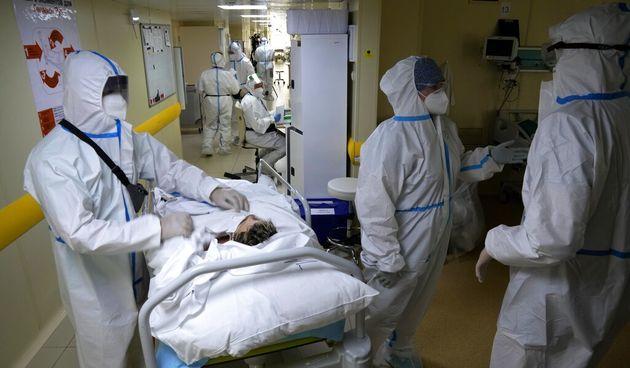 Covid-19, bolnica, Moskva
