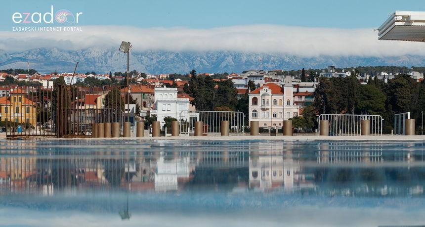 U Dalmaciji većinom sunčano, uz umjerenu do jaku buru