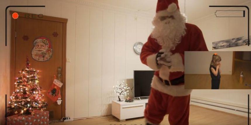 Počela gubiti vjeru u Djeda Mraza pa joj tata pokazao snimku koja dokazuje drugačije