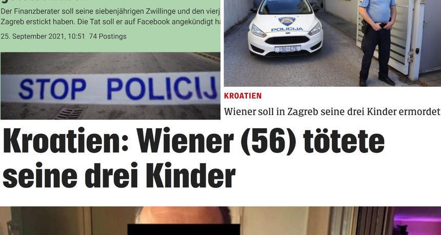 Austrijski mediji o osumnjičenom ubojici svojih troje djece: 'Bečanin je, čini se, bio depresivan'