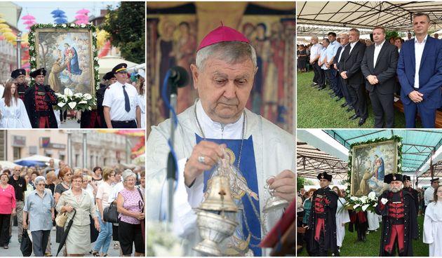 Svečanom procesijom i misom vjernici proslavili blagdan Gospe od Anđela