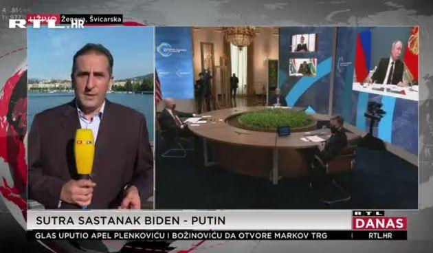 RTL-ov reporter javio se iz Ženeve uoči povijesnog sastanka Bidena i Putina: Hoće li doći do zatopljavanja odnosa? (thumbnail)