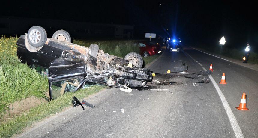 VIKEND NA CESTAMA Šest nesreća u Međimurju, ozlijeđene dvije biciklistice i vozač automobila