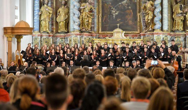 Koncert učenika Glazbene škole u Varaždinu na Varaždinskim baroknim večerima