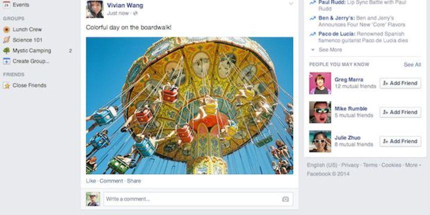 Facebook mijenja izgled naslovnice