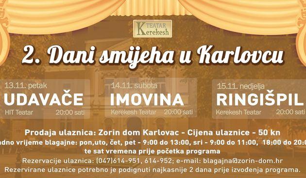 Od 13. do 15. studenog u Zorin domu