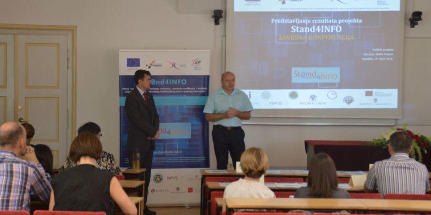 Projekt Stand4INFO na FOI-u: 'Prvi korak ka reformi obrazovanja informatičara'