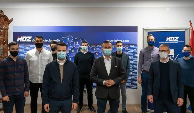 Održana sjednica Županijskog odbora Mladeži HDZ-a s novim članicama i članovima