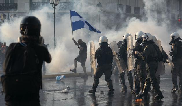 Grčka, prosvjed