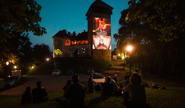 Stari grad Dubovac kao velika pozornica - video instalacijom