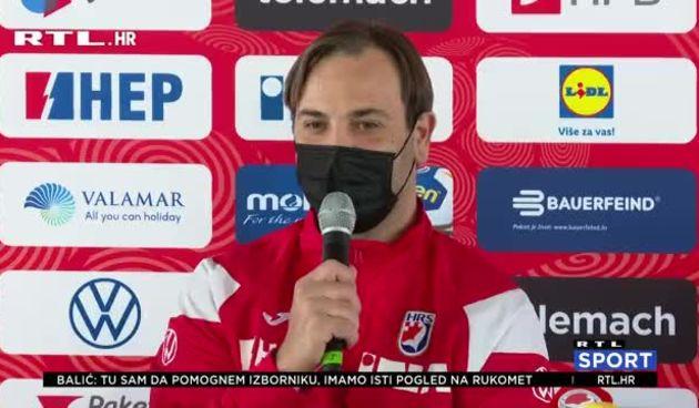 Okupila se hrvatska rukometna reprezentacija s nekim novim licima, tu je i Balić (thumbnail)