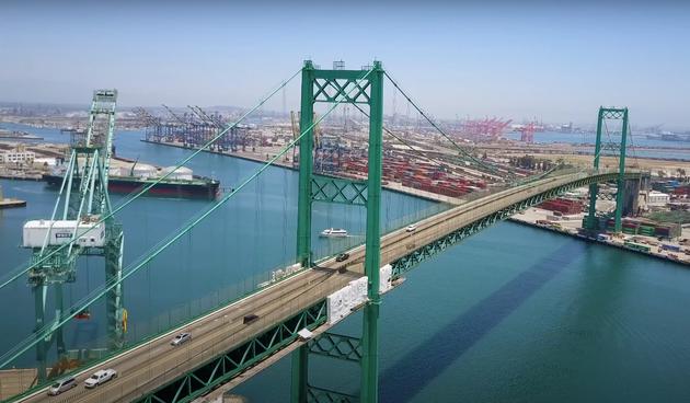 Spektakularan let iznad mosta u San Pedru koji je napravljen zaslugom Hrvata