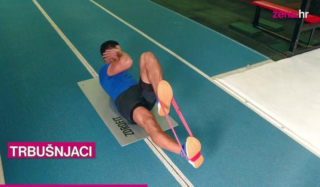 Vježbaj kod kuće s Ivanom: Kružni trening s gumenim trakama (thumbnail)